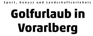 Golf Vorarlberg